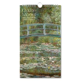 Calendrier d'anniversaire et porte-cartes Monet