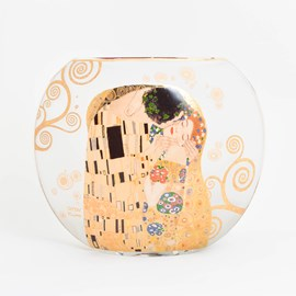 Lampe de table en verre Klimt'The Kiss