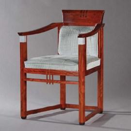 Chaise de salle à manger Art Déco Susan
