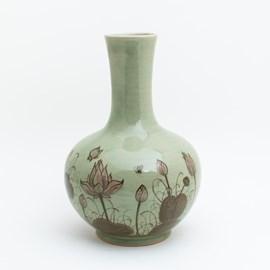 Vase Manchu Lotus Manchu