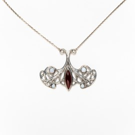 Collier Jugendstil Fantastique
