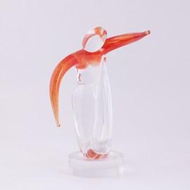 Sculpture sur verre Dynamique