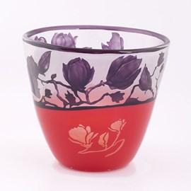 Bol en verre Magnolia Sublime Violet