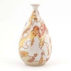 Vase Jugendstil Clématite à l'orange