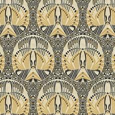 Tissu de projet gracieux Jugendstil