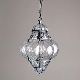 Lampe Vénitienne Suspendue Petite Bellezza Clair