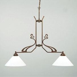 Lampe à suspension en T Flora