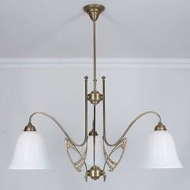 Lustre Victor Horta 3 lumières Elegance