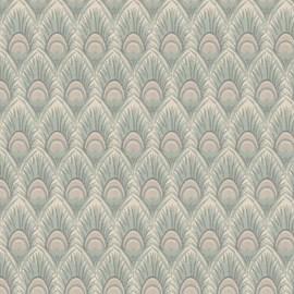 Ameublement / Rideau Tissu de tissu Plume de paon