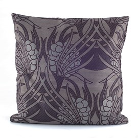 Coussin Flower Clusters Gris