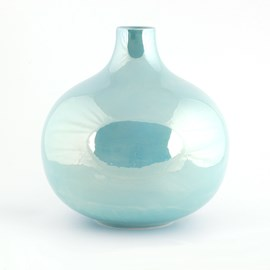 Vase Globe Éclat Turquoise Turquoise