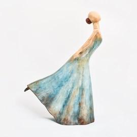 Sculpture Ballerine en pose
