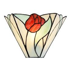 Tiffany Lampadaire mural Tulipe