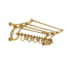 Manteau Rack River Bronze | 70 cm