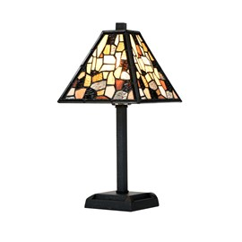 Tiffany petite lampe de table Fallingwater