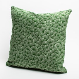 Coussin Elegant Ginkgo | Vert