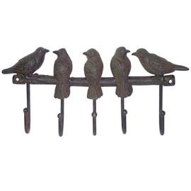 (Lot de 2) Porte-manteaux oiseaux