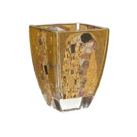 Bougeoir en verre Gustav Klimt   Le Baiser
