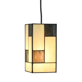 Tiffany Lampe Suspendue Mondriaan small square