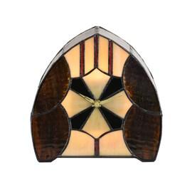 Tiffany Horloge / Lampe de table Parabola