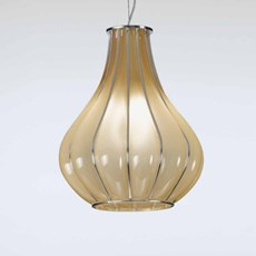Lampe Vénitienne Suspendue | Jaune Ambre