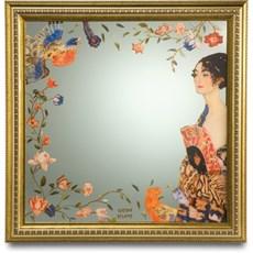 Miroir Lady avec ventilateur | Klimt