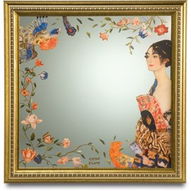 Miroir Lady avec ventilateur   Klimt