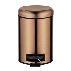 36/5000 Bac à pédale cuivre métallisé   3 litres
