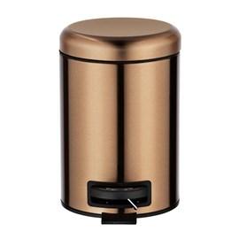 36/5000 Bac à pédale cuivre métallisé | 3 litres
