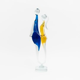 Sculpture en Verre Lovers