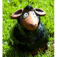 Sphère de jardin Noir Mouton