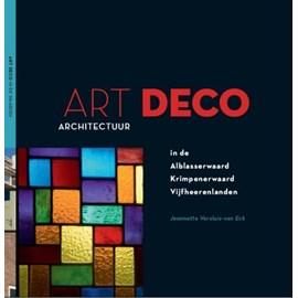 Livre L'architecture Art Déco dans le'Waarden' néerlandais