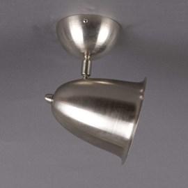 Spot de plafond à culbuteur Matte Nickel