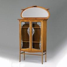 Vitrine Art Nouveau Décorative
