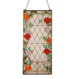 Arc Tiffany Suncatcher Rose