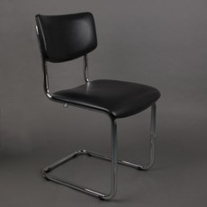 Bold Chrome Tube Chair Basic sans accoudoirs