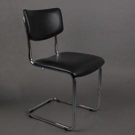 Bold Chrome Tube Chair Basic sans accoudoirs