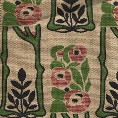 Tissu rideau Rose Mackintosh petit modèle
