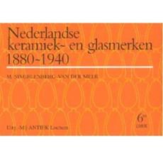 Marques de céramique et de verre néerlandaises de livre de céramique et de verre