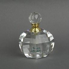 Bouteille de Parfum Rond à Facettes