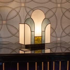 Tiffany Lampe de Table New York