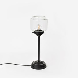Lampe De Table Mince Stepped Cylinder Small Clair Moonlight