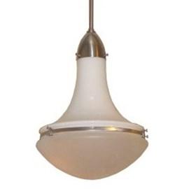 Lampe Wissmann en opale et/ou verre gravé Ø 32