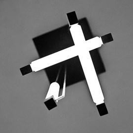 Gerrit Rietveld Lampe Suspendue 155cm