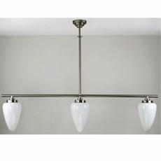 Lampe Suspendue en T 3 Lampes