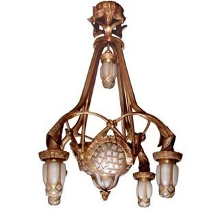 voorbeeld van een van onze Lampes Horeca / Projets