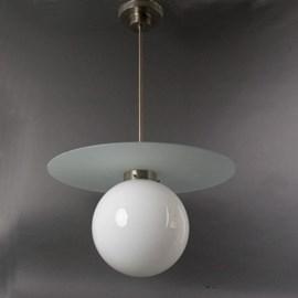 Lampe suspendue Gispen 24 Wagenfeld