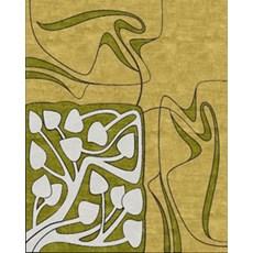 Tapis Art Nouveau Floral