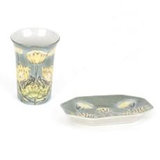 Assiette en céramique marais-marigold à Jugendstil