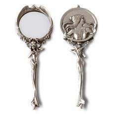 Miroir à Main Art Nouveau / Cadre Photo Ancien